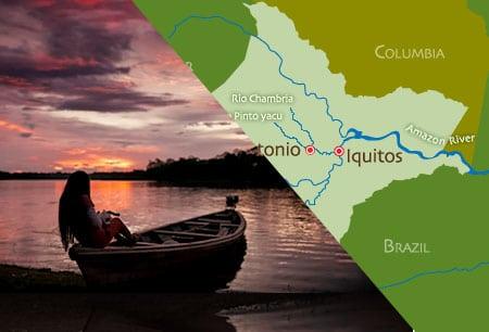 Iquitos map
